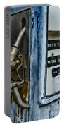 Vintage Gas Pump 2 Portable Battery Charger