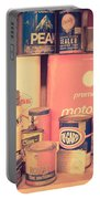Vintage Gas Service Station Products Portable Battery Charger