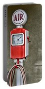 Vintage Gas Station Air Pump 2 Portable Battery Charger