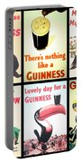 Vintage Guinness  Portable Battery Charger by Georgia Fowler