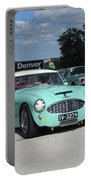 Vintage Healey In Starting Grid Portable Battery Charger