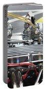 Vintage Hotrod Engine Portable Battery Charger
