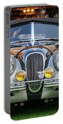 Vintage Jaguar -0924c Portable Battery Charger