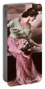 Vintage Lady Rose  Limited Sizes Portable Battery Charger