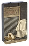 Vintage Laundry Room II By Edward M Fielding Portable Battery Charger