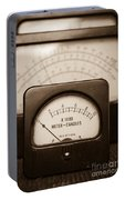 Vintage Light Meter Portable Battery Charger by Edward Fielding