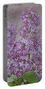 Vintage Lilacs Portable Battery Charger