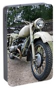 Vintage Military Motorcycle Portable Battery Charger