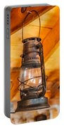 Vintage Oil Lanterns Portable Battery Charger by Paul Freidlund