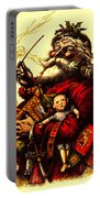 Vintage Original Coca Cola Red Santa Claus Poster Portable Battery Charger