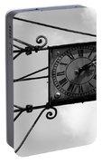 Vintage Paris Clock 2 Portable Battery Charger