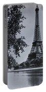 Vintage Paris Portable Battery Charger