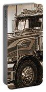 Vintage Peterbilt Truck Portable Battery Charger