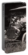 Vintage Photo Of Rural Mail Carrier - 1914 Portable Battery Charger