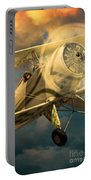 Vintage Plane In Flight Portable Battery Charger