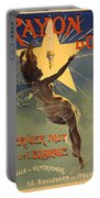 Vintage Poster 1 Portable Battery Charger