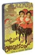 Vintage Poster   Brighton Portable Battery Charger