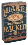 Vintage Quaker Crackers For The Kitchen Portable Battery Charger