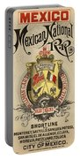 Vintage Train Ad 1897 Portable Battery Charger