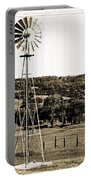 Vintage Ranch Windmill Portable Battery Charger