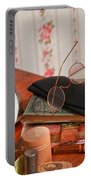 Vintage Reading Glasses Still Life Art Prints Portable Battery Charger