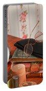 Vintage Reading Glasses Still Life Art Prints Portable Battery Charger