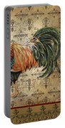 Vintage Rooster-d Portable Battery Charger