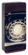 Vintage Rotary Phone Portable Battery Charger