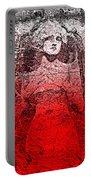 Vintage Ruby Portrait Portable Battery Charger