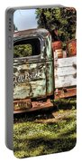 Vintage Rusty Old Truck 1940 Portable Battery Charger
