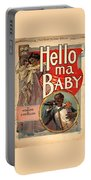 Vintage Sheet Music Cover Circa 1900 Portable Battery Charger