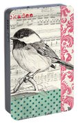 Vintage Songbird 3 Portable Battery Charger