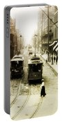 Vintage St Charles Street - New Orleans Portable Battery Charger