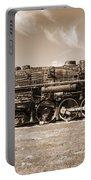 Vintage Steam Locomotive Portable Battery Charger