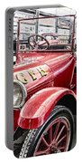 Vintage Studebaker Fire Engine Portable Battery Charger