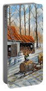Vintage Sugar Shack By Prankearts Portable Battery Charger