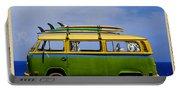Vintage Surf Van Portable Battery Charger