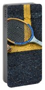 Vintage Tennis Portable Battery Charger by Paul Ward