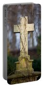 Vintage Tombstone Cross Portable Battery Charger