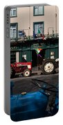 Vintage Tractors Lined Portable Battery Charger