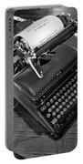 Vintage Typewriter Portable Battery Charger