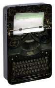 Vintage Typewriter Mechanical Portable Battery Charger