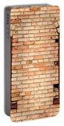 Vintage Urban Brick Building - Salt Lake City Portable Battery Charger