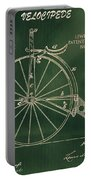 Vintage Velocipede Patent Portable Battery Charger