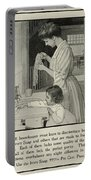 Vintage Victorian Soap Advert Portable Battery Charger