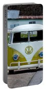 Vintage Volkswagen Bus Portable Battery Charger