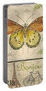 Vintage Wings-paris-l Portable Battery Charger