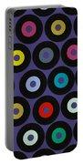Vinyl Violet Portable Battery Charger