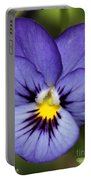 Viola Named Sorbet Blue Heaven Jump-up Portable Battery Charger by J McCombie