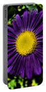 Violet Aster Portable Battery Charger